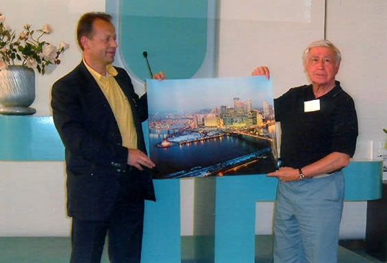 Presov Mayor Pavel Hagyari and Honorary Consul Joseph Senko